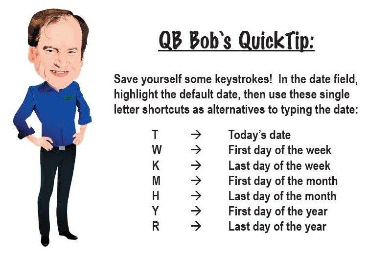 QuickBooks Tip