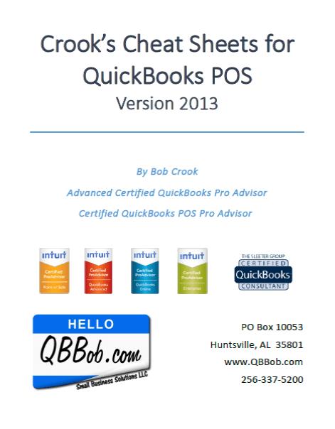 Qb Bob S Cheat Sheets Small Business Solutions