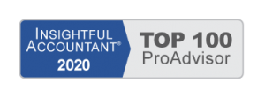 Insightful Accountant 2020 Top 100 Advisor  Huntsville, AL